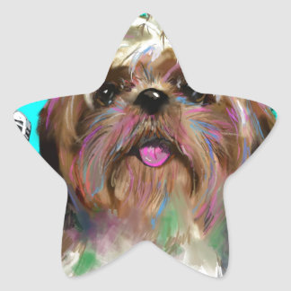 Sing your Song PAINTING.jpg Star Sticker