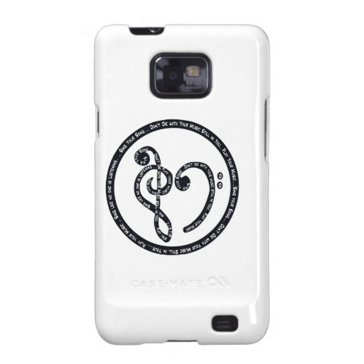 Sing Your Song / Play the Music Within You Samsung Galaxy S2 Case