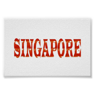 SINGAPORE Beautiful Country   Poster Fashion GIFTS