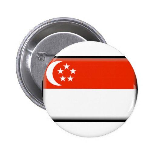 Singapore Pinback Buttons