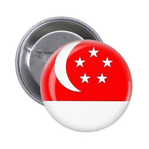 Singapore Pinback Button