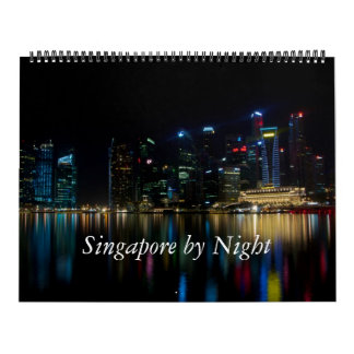 Singapore by Night Calendar