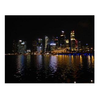 Singapore by Night Postcard