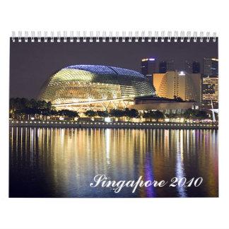 Singapore calendar 2010