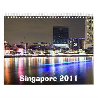 Singapore Calendar 2011
