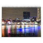 Singapore Calendar 2013