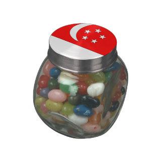 Singapore Glass Jars