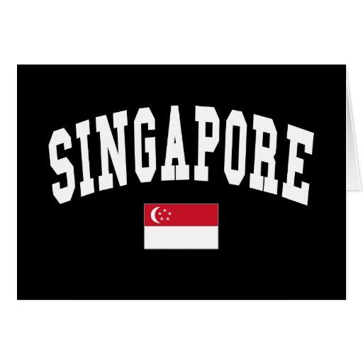 SINGAPORE CARDS