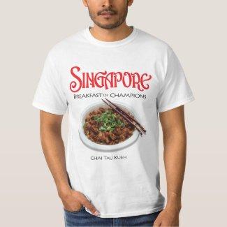 Singapore Chai Tau Kueh - Light Fabric T-shirt