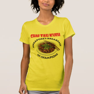 Singapore Chai Tau Kueh v2 - Light Fabric T-Shirt