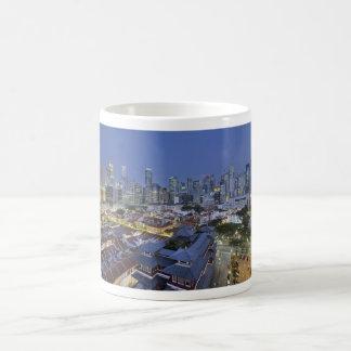 Singapore Cityscape at Blue Hour Mug