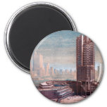 Singapore Conceptual Drawing Refrigerator Magnets
