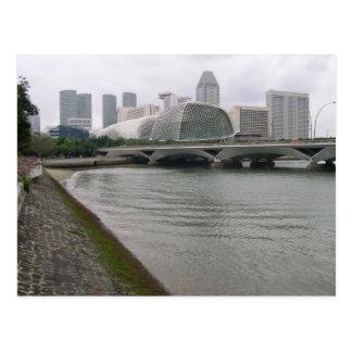 Singapore Cultural Centre In Durian Postcard