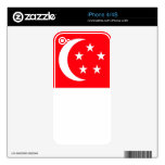 SINGAPORE DECAL FOR THE iPhone 4S