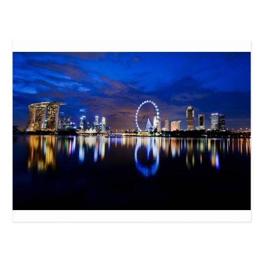 Singapore Dream Postcard