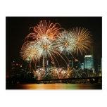 Singapore Fireworks Festival 2 Postcard