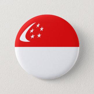 Singapore Fisheye Flag Button