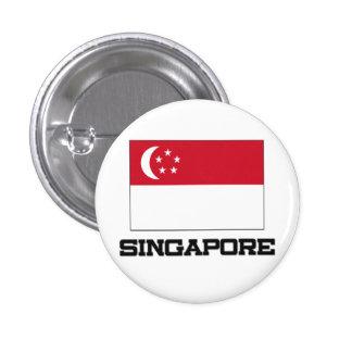 Singapore Flag 1 Inch Round Button