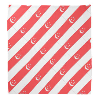 Singapore Flag Bandana