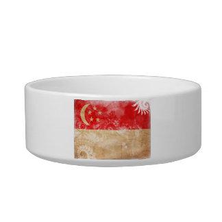 Singapore Flag Bowl