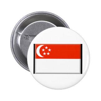 Singapore Flag Pins