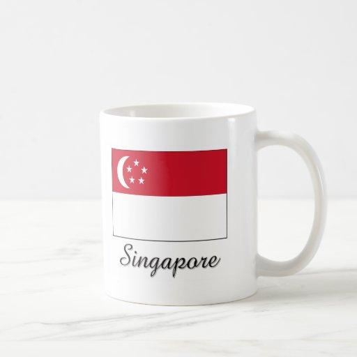 Singapore Flag Design Mug