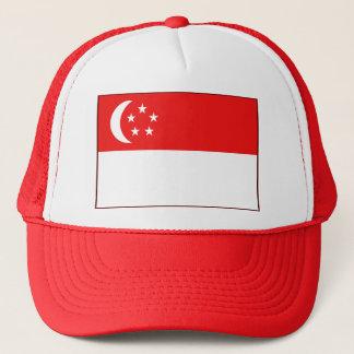 Singapore Flag Hat