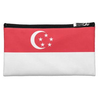 Singapore Flag Makeup Bag
