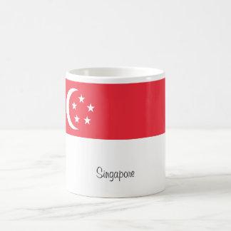 Singapore flag mug