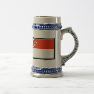 Singapore Flag Coffee Mug