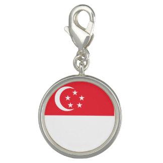 Singapore Flag Photo Charms