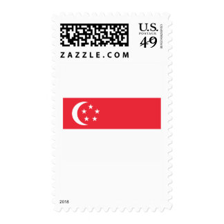 Singapore Flag Stamps