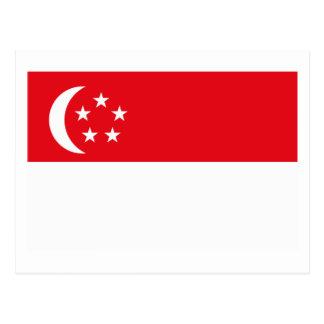 Singapore Flag Postcard
