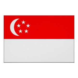 Singapore Flag Posters