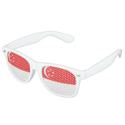 Singapore Flag Retro Sunglasses