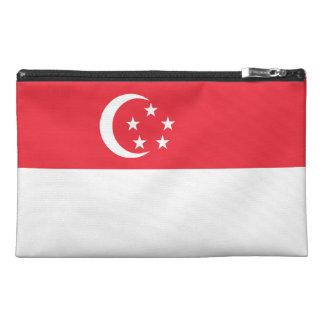 Singapore Flag Travel Accessories Bags
