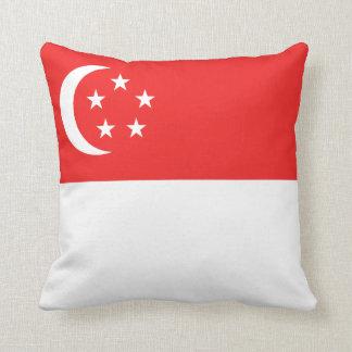 Singapore Flag x Flag Pillow
