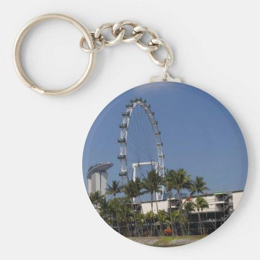 Singapore Flyer Key Chains