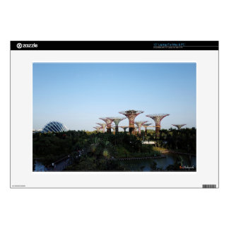 """Singapore-Garden By The Bay 15"""" Laptop Decal"""