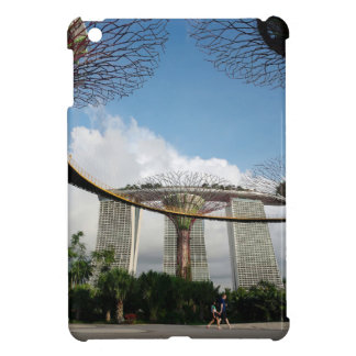 Singapore - Garden By The Bay and Marina Bay Sands iPad Mini Cover