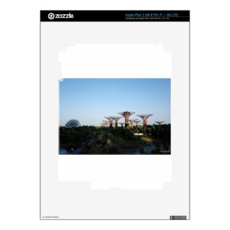 Singapore-Garden By The Bay Skins For iPad 3