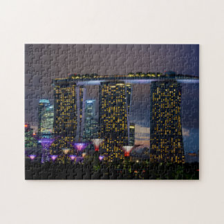 Singapore Gardens by the Bay Jigsaw Puzzle