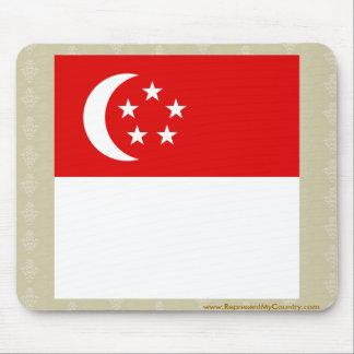 Singapore High quality Flag Mouse Pad
