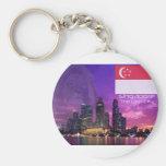 Singapore Key Chain