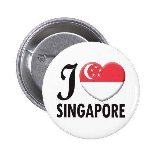 Singapore Love Pins