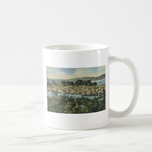 Singapore Malley Valley St. , Vintage Coffee Mugs