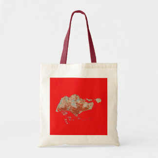 Singapore Map Bag