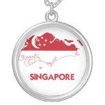 SINGAPORE MAP CUSTOM JEWELRY
