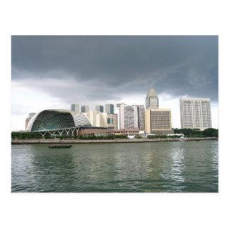 Singapore Marina Bay Postcard