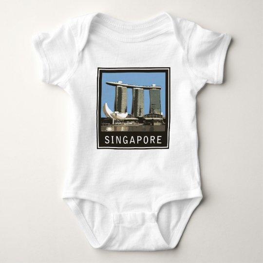 Singapore Marina Bay Sands Baby Bodysuit